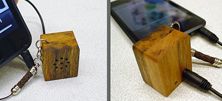 ( i・dear Wood Speaker)