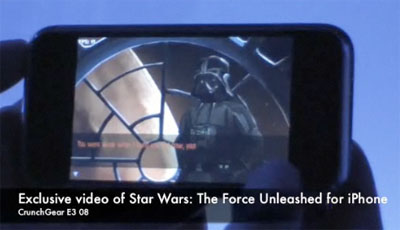 Star Wars:The Force Unleashed for iPhone