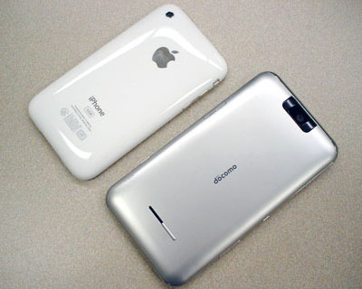 iPhone 3GSとT-01A