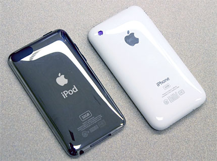 iPod touch 2GとiPhone 3GS