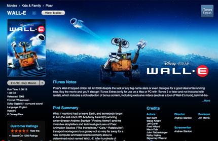 iTunes Extras - WALL-E