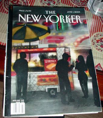 雑誌「THE NEW YORKER」表紙