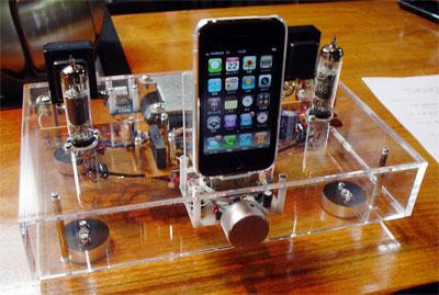iPhone用真空管アンプ