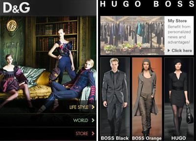 D&G / HUGO BOSS
