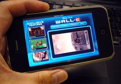 WALL-E on iPhone(Fake)