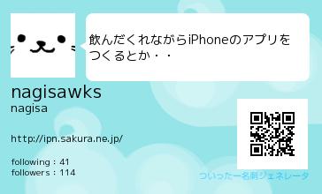 nagisaさん(@nagisawks)