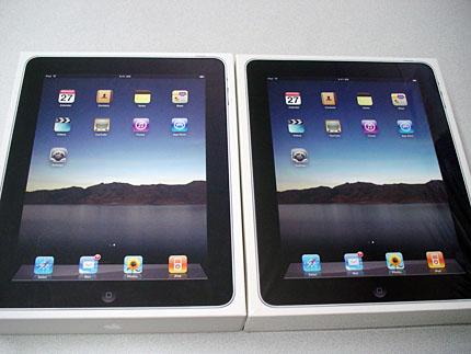 iPad With Wi-fi +3G - パッケージ比較