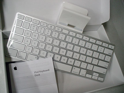 「iPad Keyboard Dock」