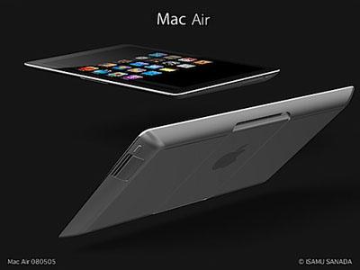Mac Air Tablet Mockup From Isamu Sanada