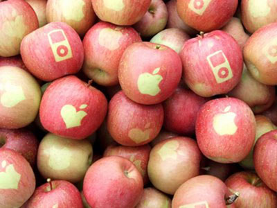 Apples Get Apple Branding