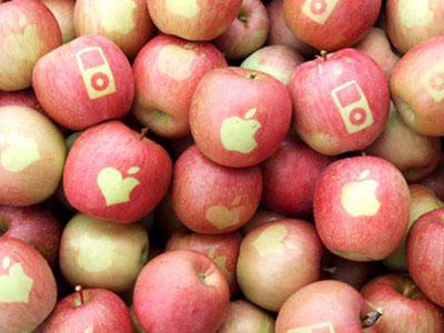 Apples Get Apple Branding