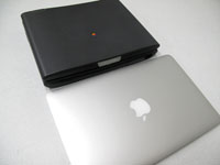 MacBook Air/PowerBook2400c