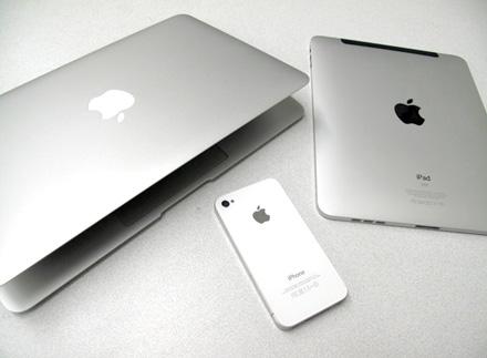 MacBook Air/iPad/iPhone