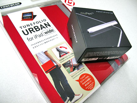 TUNEFOLIO URBAN for iPad