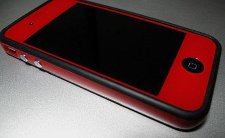 iPhone 4 RED w/Bumper
