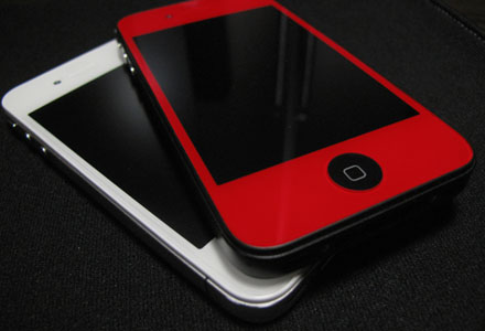 iPhone 4 RED w/White