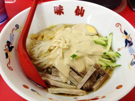 台湾ラーメン・味仙の「涼麺」