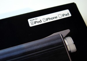 パッケージには、Made for iPod iPhone iPad