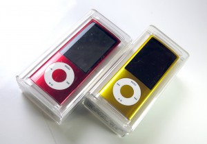 iPod nano (PRODUCT)REDとイエロー