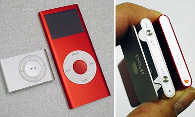 (iPod shuffle 2nd/nano 2nd)
