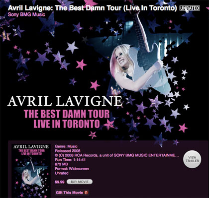 Avril Lavigne:The Best Damn Tour [Live In Tronto]