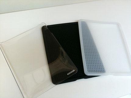 「TUNESHELL for iPad」と「ICEWEAR for iPad」