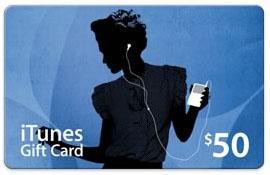 iTunes Card US($50)