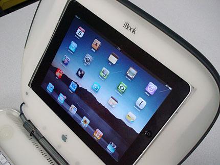 iPad in iBook