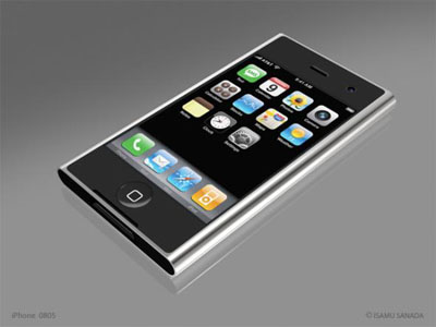 iPhone 2.0 Mockup From Japan