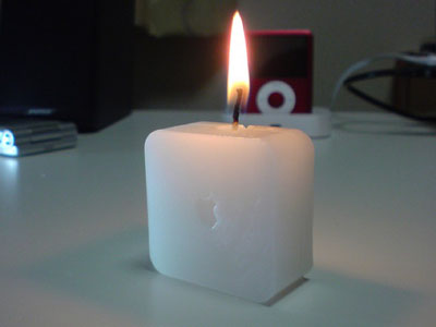 Light Work: Apple Time Capsule Candle