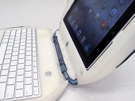 iPad in iBook (w/Apple USB Key)