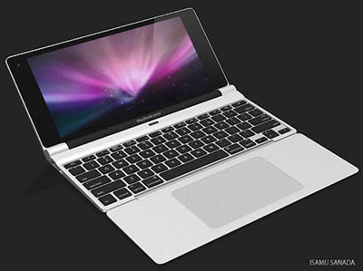 An Intriguing Apple NetBook Mock-up + Bad Display News for MacBook Pro