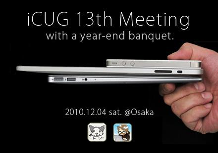 ICUG 13th Meeting