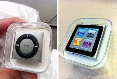 iPod nano & shuffle