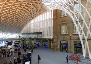 King's Cross St. Pancras駅構内